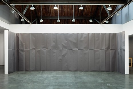 Gaylen Gerber, Backdrop, 2014, Andrea Rosen Gallery (closed)