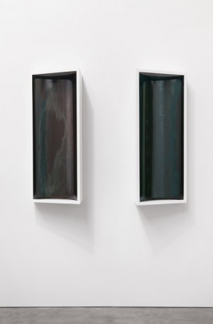 Liz Deschenes, bracket (new york) 3 / bracket (new york) 4, 2014, Andrea Rosen Gallery (closed)