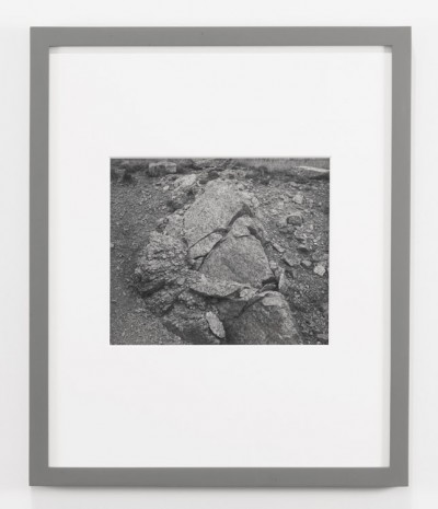 James Welling, Granite Outcrop, Harriman, WY, 1992, Andrea Rosen Gallery (closed)