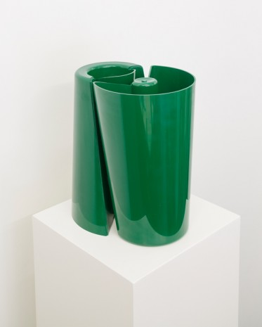Enzo Mari, Pago Pago Vase (2), Model No. 3087, 1969, WALLSPACE (closed)