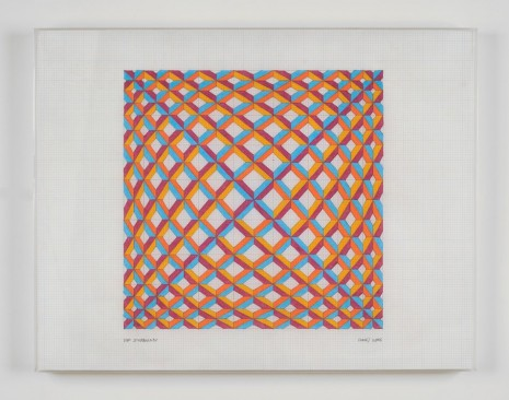 Jim Isermann, Untitled (0406), 2006, Praz-Delavallade