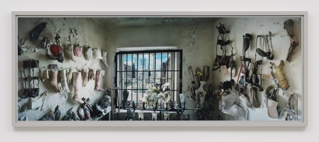 Scott McFarland, View from St. Roch Chapel, New Orleans, 2012, Regen Projects