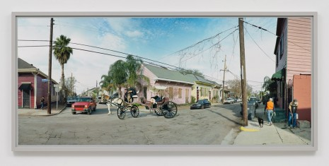 Scott McFarland, Burgundy Street, The Marigny, New Orleans, 2013, Regen Projects