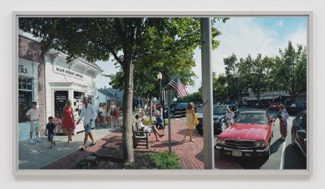 Scott McFarland, Scott McFarland Main Street Optics, Main Street, Southampton, New York, 2012, Regen Projects