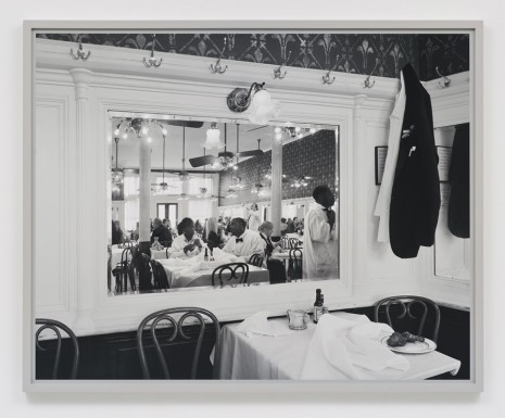 Scott McFarland, Staff Meal, Galatoires, Bourbon Street, New Orleans, 2013, Regen Projects
