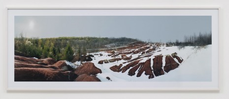 Scott McFarland, Cheltenham Badlands, Olde Base Line Rd, Caledon, Ontario, 2011, Regen Projects