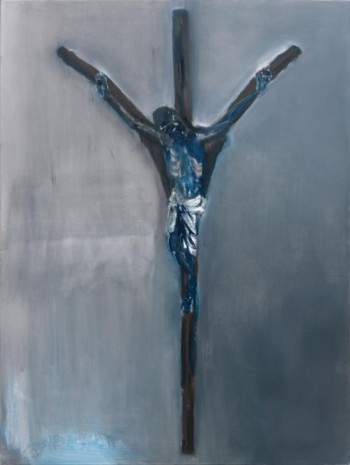 Marlene Dumas, The Crucifix, 2011, Frith Street Gallery