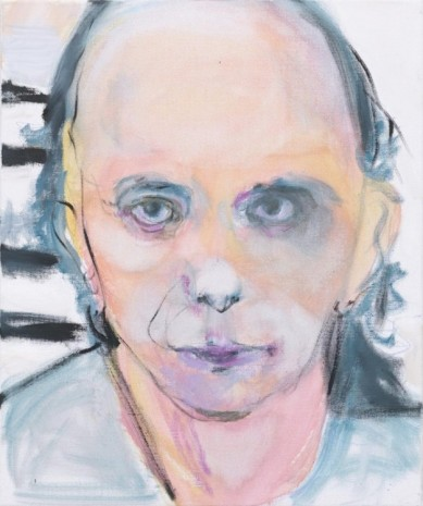 Marlene Dumas, Phil Spector – Without Wig, 2011, Frith Street Gallery