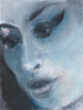 Marlene Dumas, Amy – Blue, 2011, Frith Street Gallery