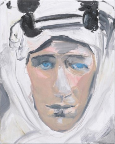Marlene Dumas, Lawrence of Arabia, 2011, Frith Street Gallery