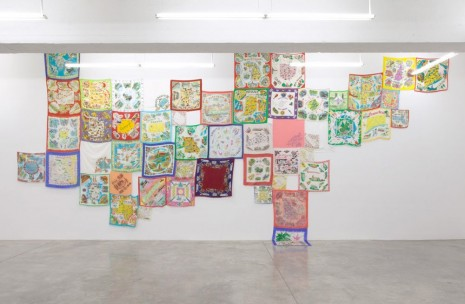 Jonathan Monk, From One State To Another (Sewn Together To Make A Whole), 2014, Casey Kaplan