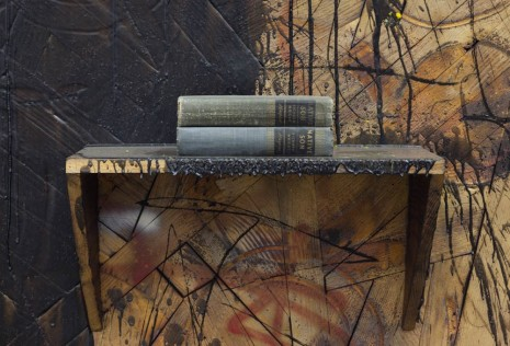 Rashid Johnson, Here to Stay (detail), 2014, David Kordansky Gallery