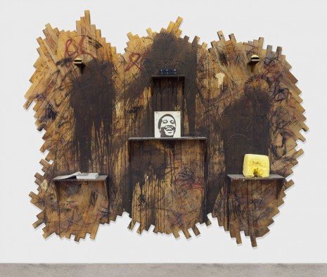 Rashid Johnson, Two Smiles, 2014, David Kordansky Gallery