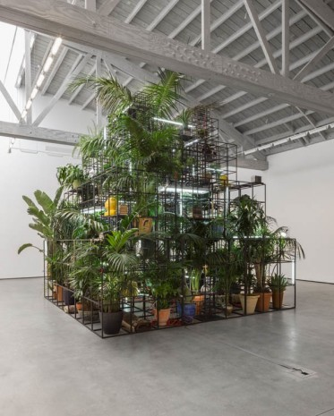 Rashid Johnson, Plateaus, 2014, David Kordansky Gallery