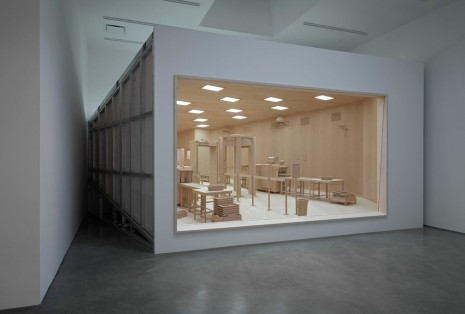 Roxy Paine, Checkpoint, 2014, Marianne Boesky Gallery