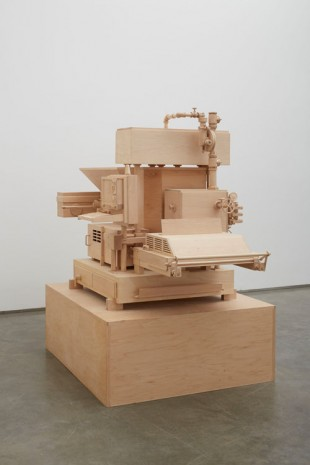 Roxy Paine, Machine of Indeterminacy, 2014, Marianne Boesky Gallery