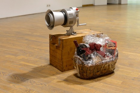 Darren Bader, Gift Basket with/and Foghorn, , Office Baroque