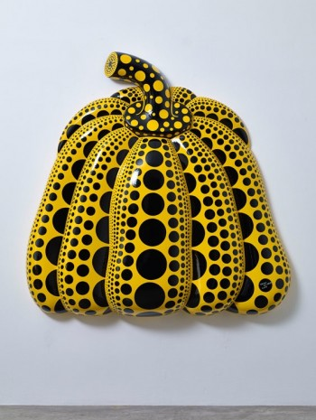 Yayoi Kusama, I Carry on Living with the Pumpkins, 2014, Victoria Miro Gallery