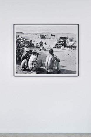 David Goldblatt, Encampment of swerwers, nomadic farmworkers, on the road to Philipstown, Northern Cape, 30 December 1986., , Marian Goodman Gallery