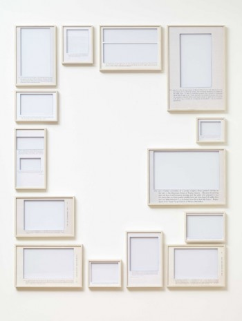 Jose Dávila, The Origins of Drawing III, 2014, Max Wigram Gallery (closed)
