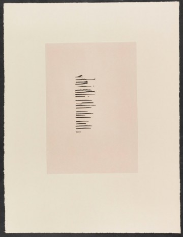 Thomas Schütte, Prints for Robert Walser and Donald Young, 2014, Cahiers d'Art