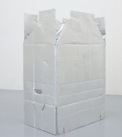 Jürgen Drescher, Moving Box freestanding VIII (Silvered), 2014, Mai 36 Galerie
