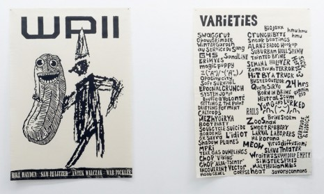Bill Hayden, Sam Pulitzer, Antek Walczak, WP II & Varieties, 2014, Air de Paris