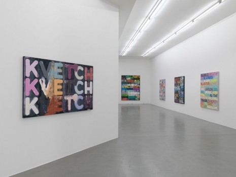 Mel Bochner Simon Lee Gallery