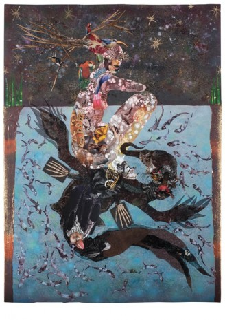 Wangechi Mutu, Beneath lies the Power, 2014, Victoria Miro Gallery