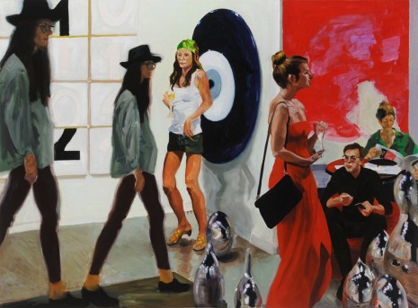 Eric Fischl, Art Fair: Booth #1 Play/Care, 2013, Victoria Miro Gallery