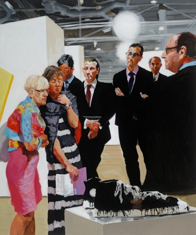Eric Fischl, Art Fair: Booth #1 Oldenburg's Sneakers, 2013, Victoria Miro Gallery