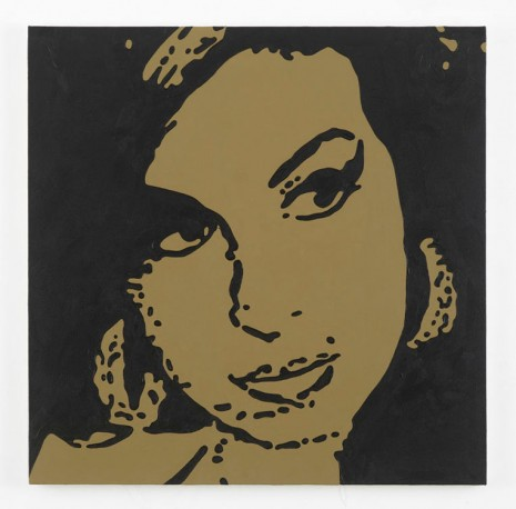 Merlin Carpenter, Amy Winehouse, 2014, Simon Lee Gallery