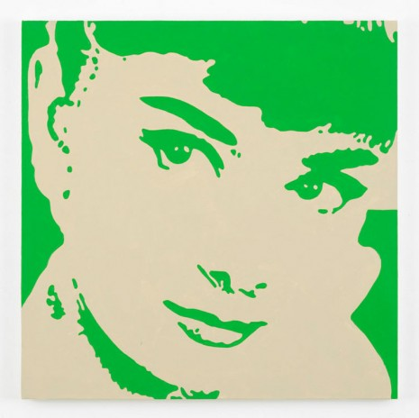 Merlin Carpenter, Audrey Hepburn, 2014, Simon Lee Gallery