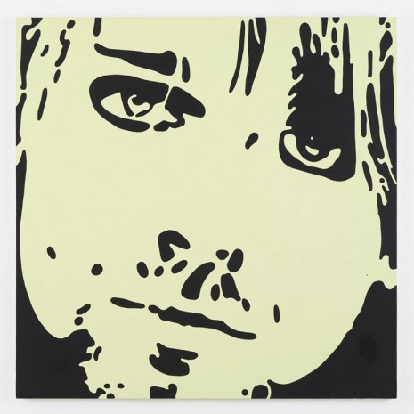 Merlin Carpenter, Kurt Cobain, 2014, Simon Lee Gallery