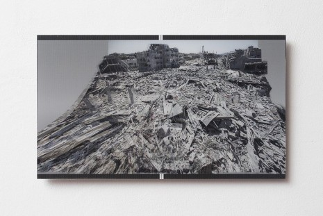 Miri Segal, Gaza Stripped Bare... (Keepsake), 2014, Dvir Gallery