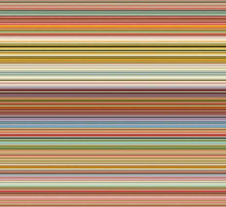 Gerhard Richter, Strip 927-2, 2012, Marian Goodman Gallery