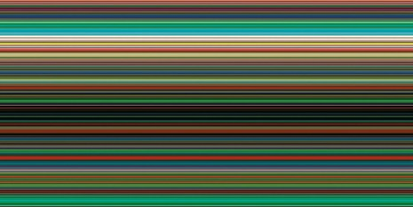 Gerhard Richter, Strip 926-7, 2012, Marian Goodman Gallery