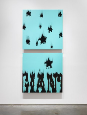 Gary Simmons, Star Fall Giant, 2014, Metro Pictures
