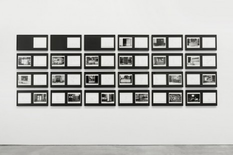 Martha Rosler, The Bowery in two inadequate descriptive systems, 1974-1975, Andrea Rosen Gallery