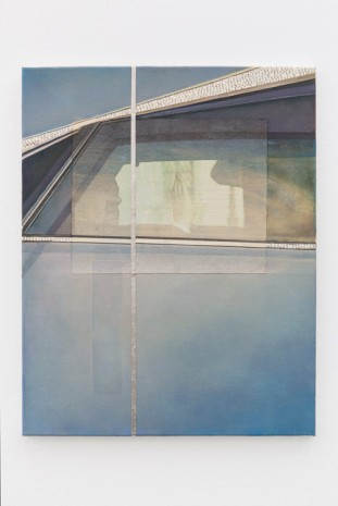 Anna Ostoya, Untitled (Blue car), 2013, Francesca Minini
