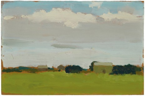 Albert York, Farm Landscape, c. 1970, Matthew Marks Gallery