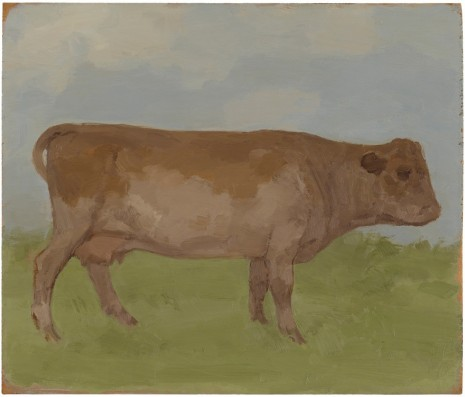Albert York, Brown Cow in a Landscape, 1984, Matthew Marks Gallery