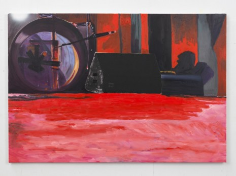 Dexter Dalwood, Roundhouse, 2014, Simon Lee Gallery