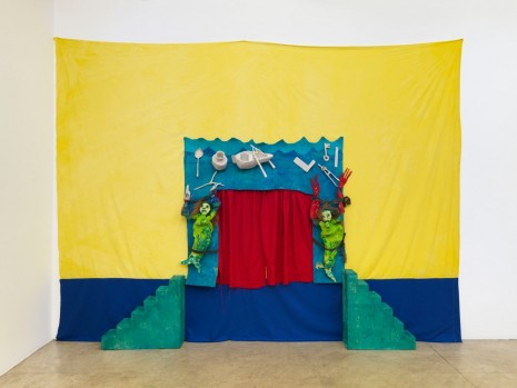 Marvin Gaye Chetwynd, Corine's Puppet Theatre, 2014, Massimo De Carlo