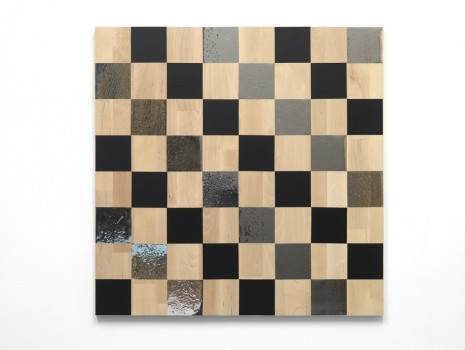 Karl Holmqvist, Untitled (Chess Painting), 2014, Hollybush Gardens