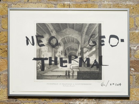 Ei Arakawa and Karl Holmqvist, Untitled (NEO GEO-THERMAL), 2014, Hollybush Gardens