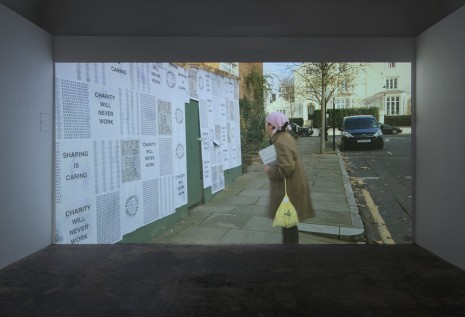 Ei Arakawa and Karl Holmqvist, video still from WE HEART EARTH HEAT (pOEtry jOUrnEy), 2014, Hollybush Gardens
