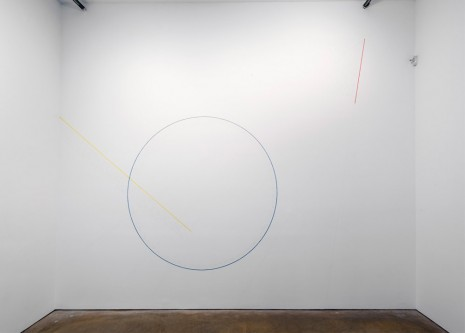 Sol LeWitt, Wall Drawing #283, 1976, James Cohan Gallery