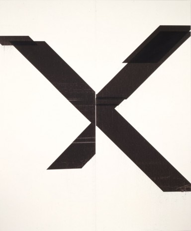Wade Guyton, Untitled, 2007, James Cohan Gallery