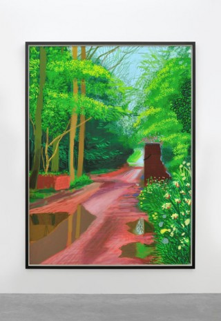 David Hockney, The Arrival of Spring in Woldgate, East Yorkshire, in 2011 (twenty eleven) - 11 May 2011, 2011, Almine Rech Gallery